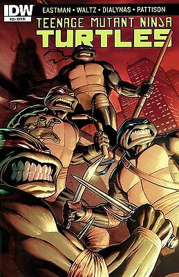 Tmnt Ongoing #53 1:10 Incentive Variant Cover