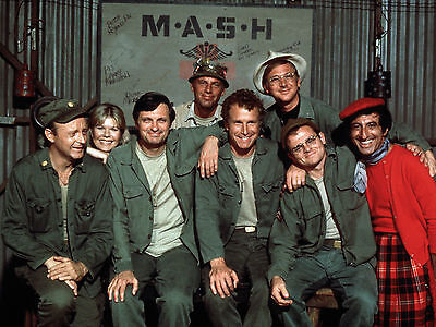 M*a*s*h Mash Cast 1970's-80's Tv Series Show 8X10 Glossy Photo Picture