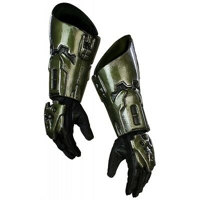 Master Chief Costume Gloves Adult HALO Halloween Fancy Dress