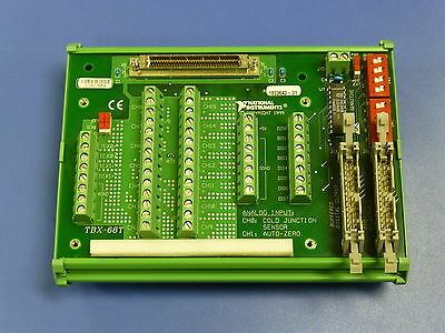 National Instruments TBX-68T Isothermal Terminal Block for NI PCI-4351, USB-4350