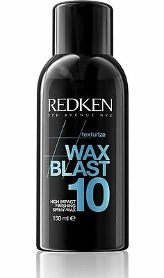 Redken Wax Blast 10 Hair Spray 150ml Texturize High Impact Finishing Body Style