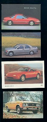 Scarce Lot of 10 1987-1991 Automobile Pocket Calendars Some Russian   B3780