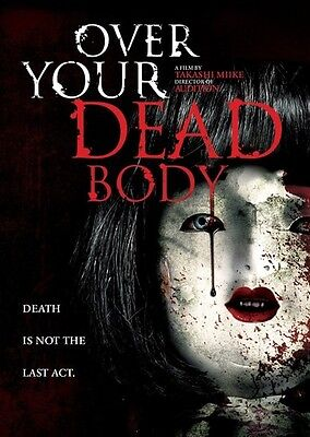 Over Your Dead Body (2016, DVD New)