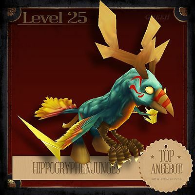 » Hippogryphenjunges | Hippogryph Hatchling | Pet | Haustier | TCG L25 «