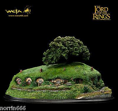 LORD OF THE RINGS BAG END diorama de resina 30cm Weta