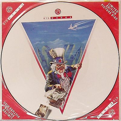 "Fish 'big Wedge' Uk Picture Disc 12"" Single"