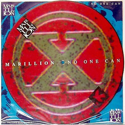 """Marillion 'no One Can' Uk Picture Disc 12"""" Single"""