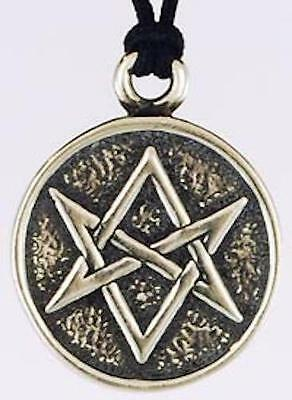 Magic Hexagram Pendant, Amulet, Talisman!