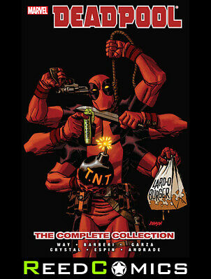 DEADPOOL by DANIEL WAY COMPLETE COLLECTION VOLUME 4 PAPERBACK GRAPHIC NOVEL