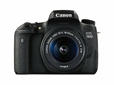 Canon EOS 760D T6s W/ EF-S 18-55mm f/3.5-5.6 IS STM Lens CAMERA!! Brand New!!
