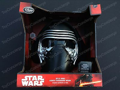 DISNEY Store STAR WARS The Force Awakens KYLO REN Voice CHANGING Mask NEW