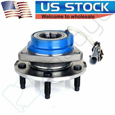 Wheel Hub Bearing Assembly Front Fits Buick Cadillac Chevrolet With ABS Sensor