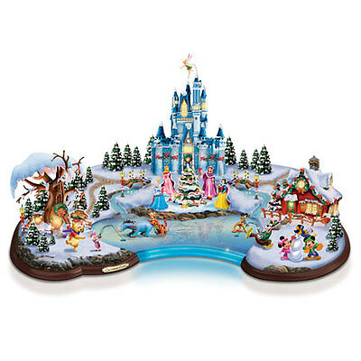 Disney Christmas Cove Hawthorn Village Light Up Centerpiece