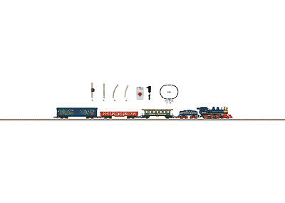 Märklin 81845 Z Gauge Startset Christmas market 230 Volt Great Britain# in #