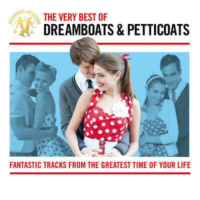 Various Artists : The Best of Dreamboats and Petticoats CD (2014)
