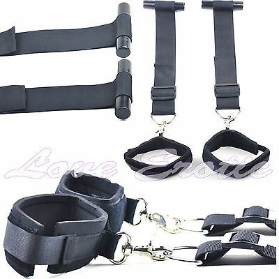 Door Jam Wrist Cuff Restraint Set Adult Play Bedroom Fun UK Stock Free Delivery