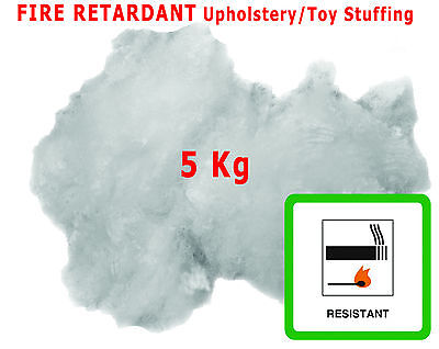 Upholstery Stuffing-Toy Stuffing 5Kg Carded Virgin Fibre Extra Soft Polyester