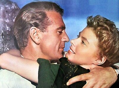 Gary Cooper Ingrid Bergman For Whome The Bell Tolls 1943 Movie 8X10 Photo