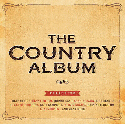 Various Artists : The Country Album CD 2 discs (2015) FREE Shipping, Save £s