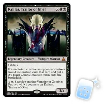 Kalitas, Traitor Of Ghet M/NM Magic: The Gathering MTG Oath Of The Gatewatch