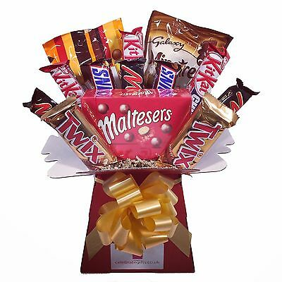 Mars Galaxy Chocolate Bouquet - Sweet Hamper Tree Explosion - Perfect Gift