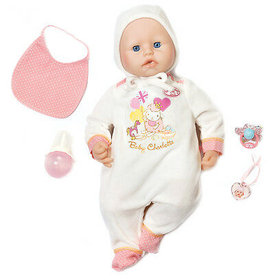 Baby Annabell Baby Charlotte Interactive Doll (46cm) NEW