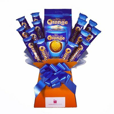 Terrys Chocolate Orange Bouquet - Sweet Hamper Tree Explosion - Perfect Gift