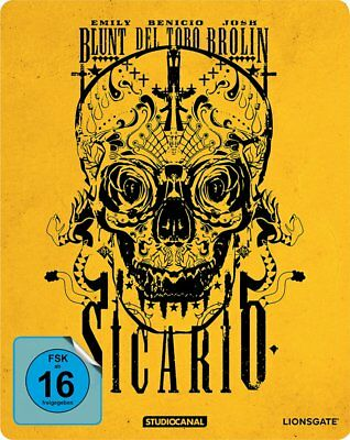 Sicario - Steelbook Edition # BLU-RAY-NEU