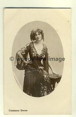 b1300 - Stage Actress - Constance Drever - postcard