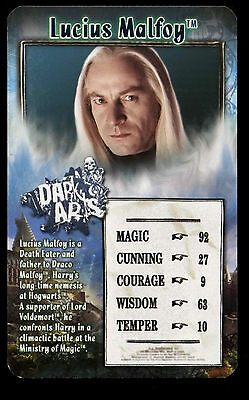 Lucius Malfoy Harry Potter - Order Of The Phoenix Top Trumps Card #C4