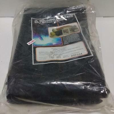 Steiner Blackflex 5X6 23 Oz Coated Fiberglass Welding Blanket #37600 New
