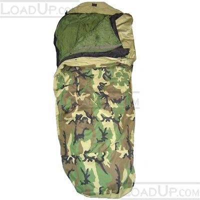 US Modular Goretex Sleep Bag System MSS Complete 4 part (Rated 50F to -40F)