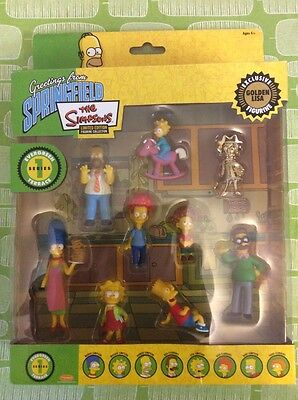 The Simpsons Limited Edition Figurine Collection Series One Gold Lisa