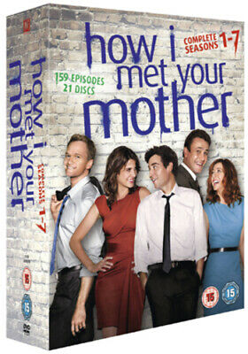 How I Met Your Mother: Seasons 1-7 DVD (2012) Josh Radnor cert 15 21 discs