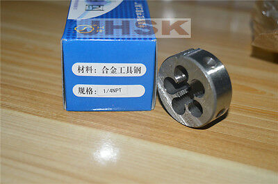 "New 1pc 1/4"" - 18 NPT Taper Pipe Die 1/4 - 18 NPT   Superior quality  (1PCS)"