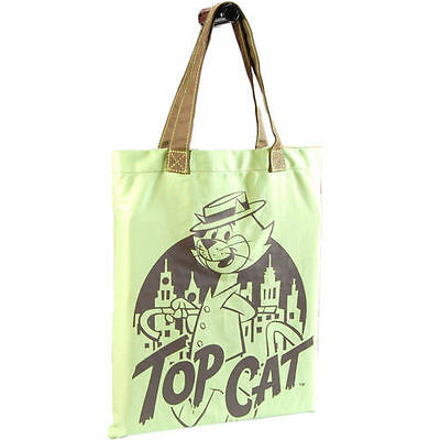 Top Cat - Cityscape Tote Bag / Shopper - New & Official Hanna Barbera With Tag