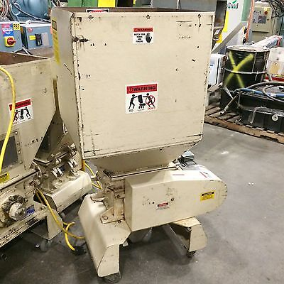 2 HP *Nissui* S-Cutter FNSK-15SC Low-Speed Screenless Granulator (grinder)