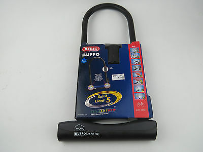 ABUS Buffo Level 5 Bicycle U-Lock - Black
