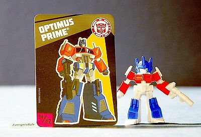 Transformers Tiny Titans Series 5 Robots in Disguise 11/12 Optimus Prime