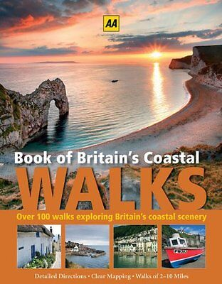 Book of Britain's Costal Walks (AA) By AA Publishing