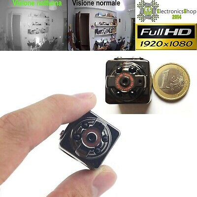 Spy Micro Camera Spia FULL HD MOTION DETECTION TELECAMERA INFRAROSSI NOTTURNA