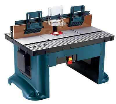 NEW Bosch 27 in x 18 in 120V Corded Benchtop Power Tool Wood Router Table Bench