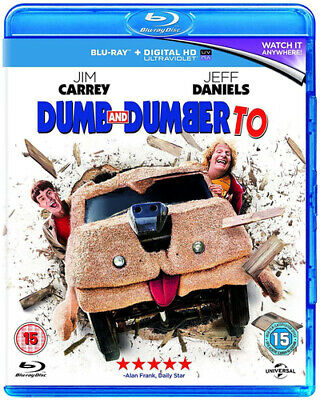 Dumb and Dumber To Blu-ray (2015) Jim Carrey, Farrelly (DIR) cert 15 Great Value
