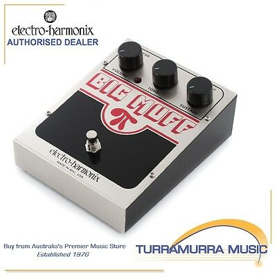 Electro Harmonix Big Muff Pi USA Distortion Effect FX Pedal