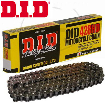 DID 428 - 134 Heavy Duty Motorcycle Chain D.I.D