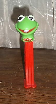 PEZ Kermit The Frog Muppets Dispenser With Feet Hungary Vintage 1991 Collectible