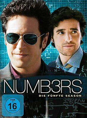 Numb3rs (Numbers) - Die komplette Season/Staffel 5 # 6-DVD-BOX-NEU