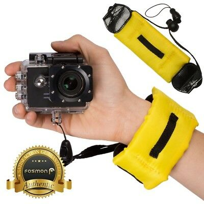 Fosmon Floating Wrist Adjustable Strap for GoPro 4 5 Session Nikon Canon Camera