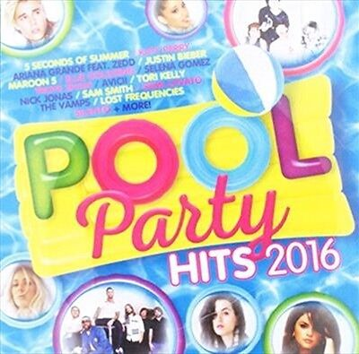 Pool Party Hits 2016, 2016  Various Artists CD NEW