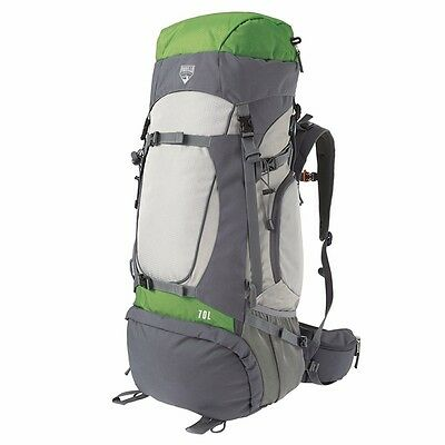 BESTWAY Ralley 70L Backpack Rucksack Bag Camping Hiking Travelling Trekking